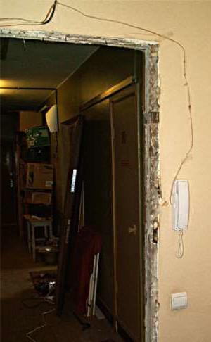 Демонтаж дверей